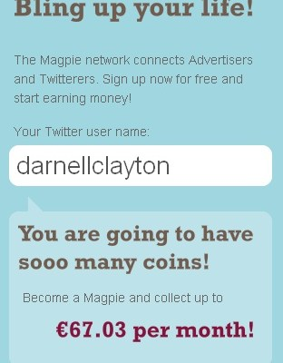 Would You Tweet Spam Friends To Pay The Rent? (Be-A-Magpie)