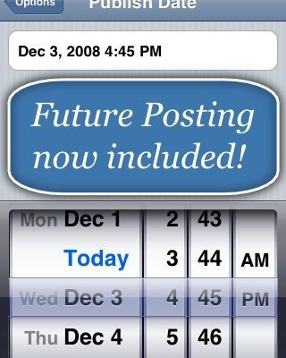 Should Google Declare Blogpress As Their Unofficial iPhone App For Blogger?