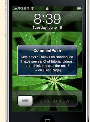 Need Push Notifications For WordPress On iPhone? There's An App For That!