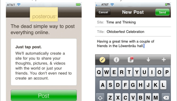Posterous For iPhone: The Good, The Bad And The Awesome