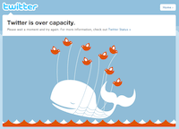 Fail Whale on Twitter