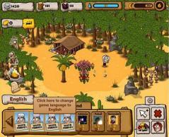 Happy Oasis - Facebook Game Screenshot