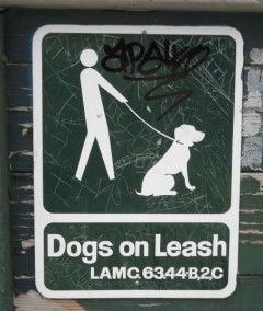 Dogs on Leash Law