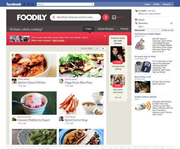 Foodily on Facebook