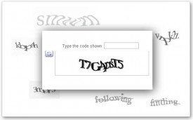 Facebook and Google Blogger Captcha
