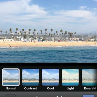 Facebook Adds Photo Filters To iOS Mobile App