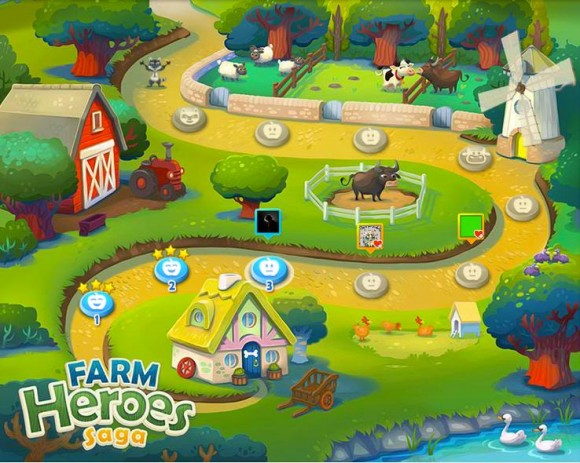 Farm Heroes for Facebook