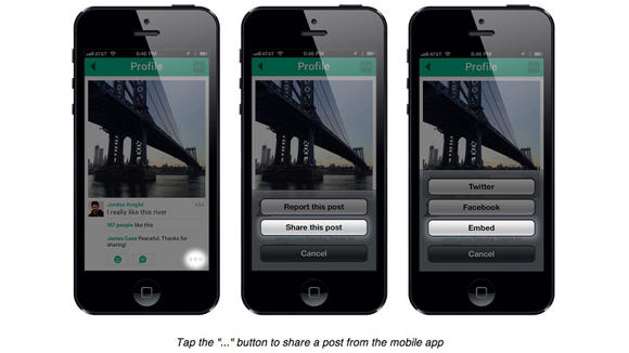 Twitter's Vine Receives Embed Feature, Better Facebook And Twitter Sharing