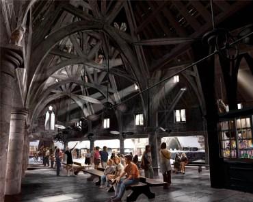Más detalles sobre el castillo y las atracciones de «El Mundo Mágico de Harry Potter»