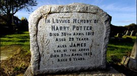 La tumba de Harry Potter.. Existe