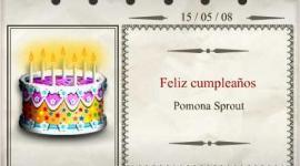 Feliz Cumpleaños, Pomona Sprout!