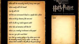 CONFIRMADO: Parque Temático de Harry Potter Abrirá en el Año 2010!