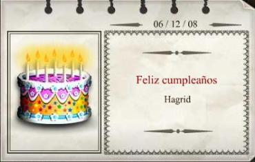 ¡Feliz Cumpleaños, Hagrid!