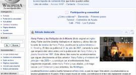 'Harry Potter y las Reliquias de la Muerte' Artículo Destacado de Hoy en 'Wikipedia'