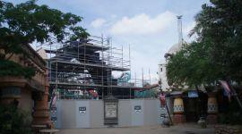 Nuevas Fotografías de la Construcción del 'Parque del Temático de Harry Potter'