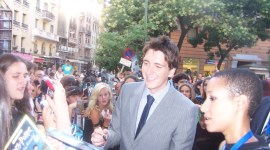 Exclusivo: Fotografías de James y Oliver Phelps en la Premiere en Madrid