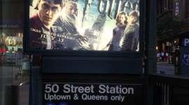 Fotos de la publicidad en Nueva York para la Premiere de 'Harry Potter y el Misterio del Príncipe'