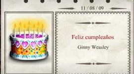 ¡Feliz Cumpleaños, Ginny Weasley!