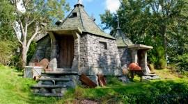 Primera Fotografía de la Cabaña de Hagrid en el Parque Temático de 'Harry Potter'