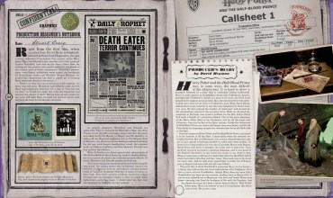Reveladas Más Imágenes Promocionales del Libro 'Harry Potter Film Wizardry'