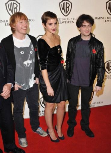Actores y Equipo Técnico de 'Harry Potter' en Evento de los Estudios Leavesden de Warner Bros.