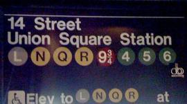 Servicio de Transporte de Nueva York agrega un Nuevo Destino con la Plataforma 9 3/4!