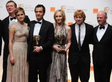 Imágenes de las Celebridades de 'Harry Potter' en la Conferencia de Prensa Post-BAFTA