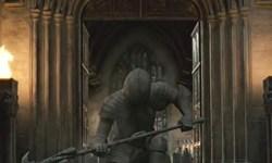 Nueva Escena de 'Las Reliquias II': Minerva McGonagall y las Armaduras de Hogwarts!
