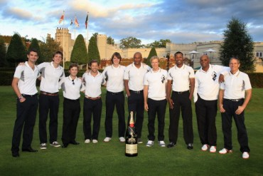 James y Oliver Phelps Asisten a Evento de Golf a Beneficio de la Fundación 'Make a Wish'