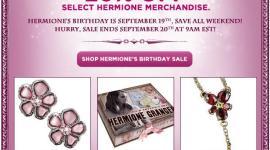 'WB Shop' Ofrece Descuentos en todos los Productos de Hermione Granger!