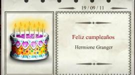 Feliz Cumpleaños, Hermione Granger!