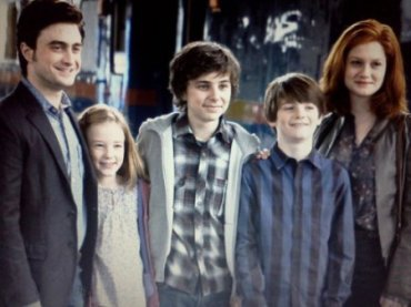 Nueva Imagen de la Familia Potter en el Epílogo de 'Harry Potter y las Reliquias de la Muerte, Parte II'