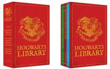 Anunciado Nuevo Set de 3 Libros Complementarios de 'Harry Potter': 'The Hogwarts Library'