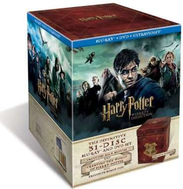 Revelado Primer Vistazo al Exterior del Box-Set de la 'Harry Potter Wizard's Collection'