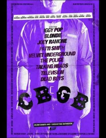 Nuevas Imágenes y Posters de Rupert Grint y Alan Rickman en la Producción Biográfica 'CBGB'