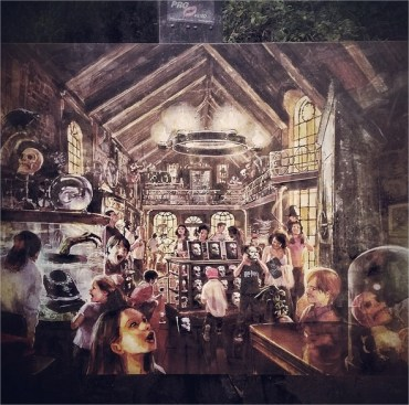 Primer Vistazo al Callejón Knockturn y a 'Borgin & Burkes' en el Parque de Harry Potter!