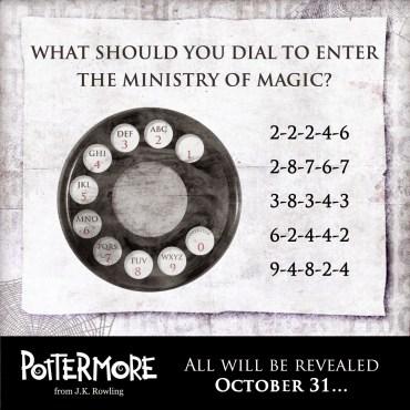 «Truco» de Pottermore: ¿Puedes Descifrar el Código?