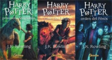 Salamandra Revela Todas las Nuevas Portadas de Harry Potter en Español