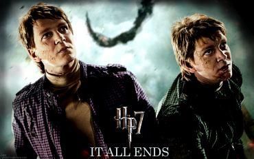J.K. Rowling Revela Cuál de los Gemelos Weasley es el Mayor
