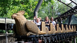 Avanza construcción del 'Vuelo del Hipogrifo' en el Parque de Harry Potter en Hollywood