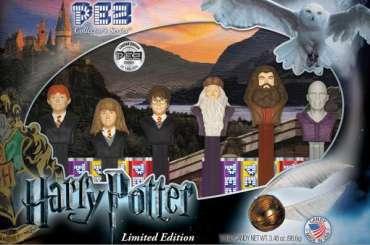 Primer vistazo a la edición limitada de dulces PEZ de Harry Potter