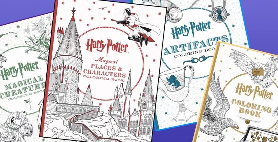 Scholastic Publicará Otros 3 Libros Para Colorear Oficiales