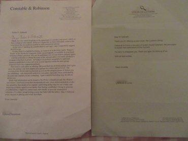 Mira las cartas de editoriales que rechazaron publicar a J.K. Rowling!