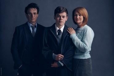 Primera Fotografía de Harry, Ginny y Albus Severus Potter en 'The Cursed Child'