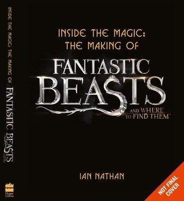 Siete libros basados en Animales Fantásticos y Dónde Encontrarlos que se publicarán este año
