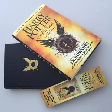 Foto-Reseña: 'Harry Potter and the Cursed Child'