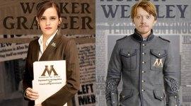 Geniales imágenes de Harry, Ron, Hermione, Neville, Ginny y Draco de adultos!