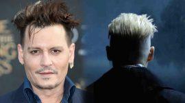 Detalles de la selección de Johnny Depp como Gellert Grindelwald en 'Animales Fantásticos'