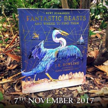 Reveladas portadas de la edición ilustrada de «Animales Fantásticos y dónde Encontrarlos»