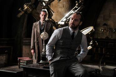 ¡Nueva fotografía de Albus Dumbledore en Animales Fantásticos: Los crímenes de Grindelwald!